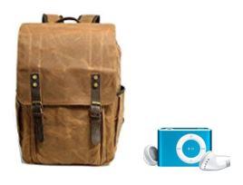 La mochila y el mp3